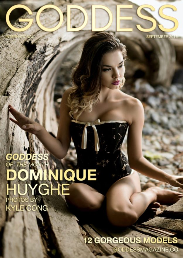 Goddess Magazine – September 2016 – Dominique Huyghe