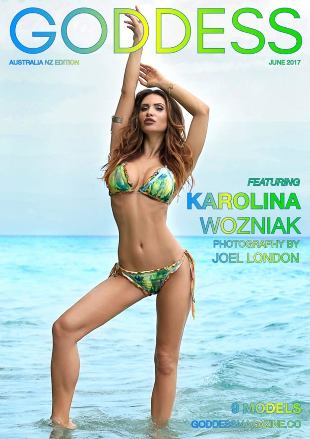 Goddess Magazine – June 2017 – Karolina Wozniak