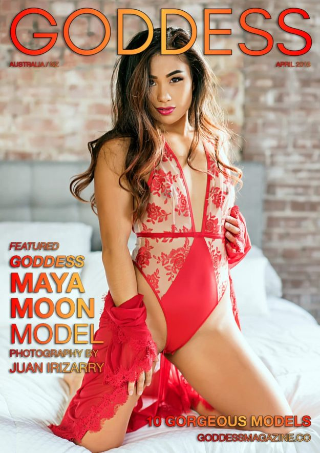 Goddess Magazine – April 2018 – Maya Moon Model