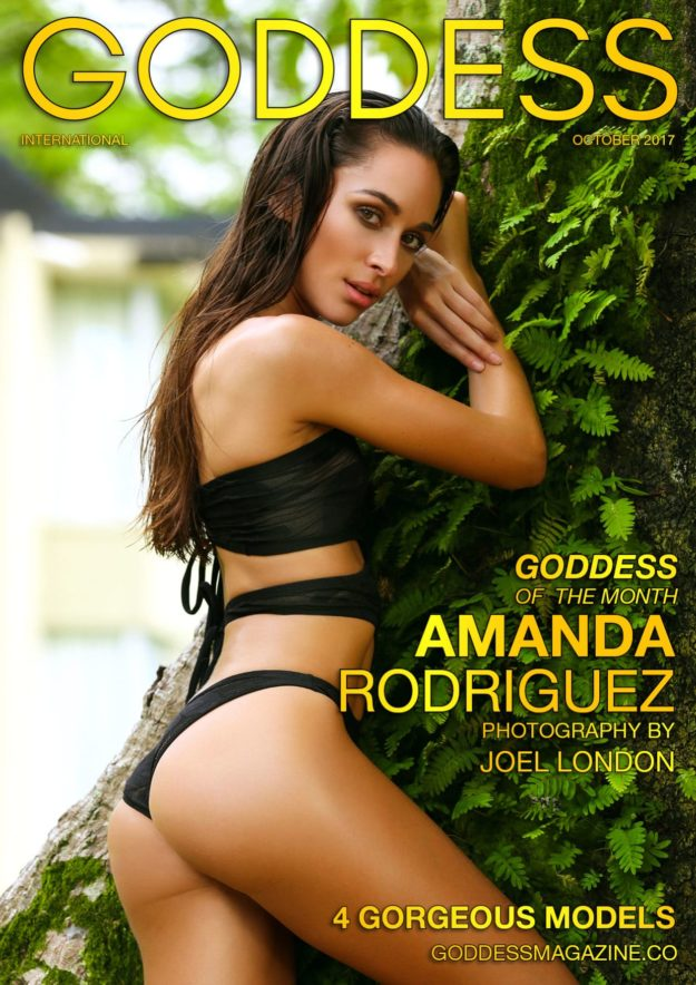Goddess Magazine – October 2017 – Amanda Rodriguez