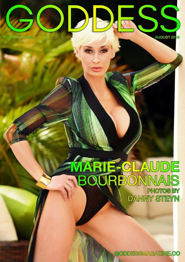 Goddess Magazine – August 2019 – Marie-Claude Bourbonnais