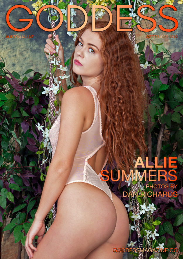 Goddess Magazine – September 2019 – Allie Summers